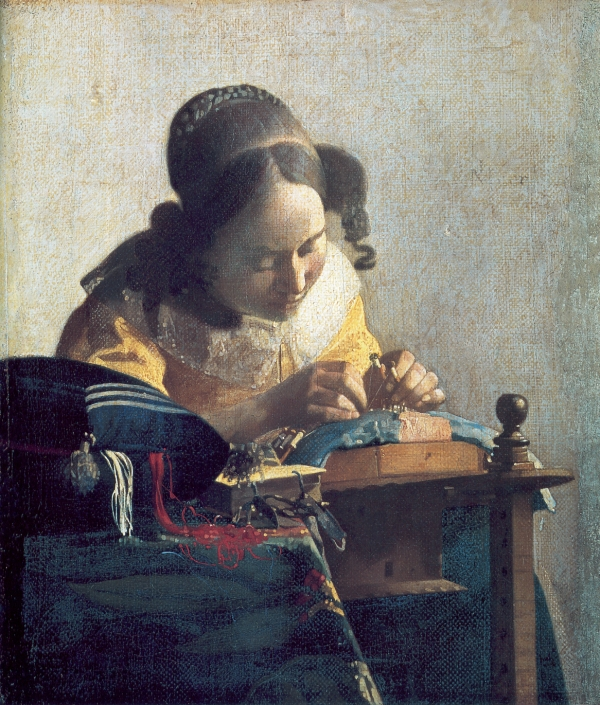 Johannes Vermeer - The lacemaker