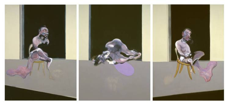 Triptych - August 1972 1972 by Francis Bacon 1909-1992
