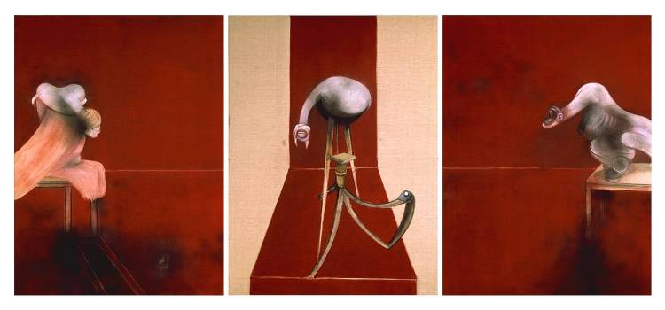 Second Version of Triptych 1944 1988 by Francis Bacon 1909-1992